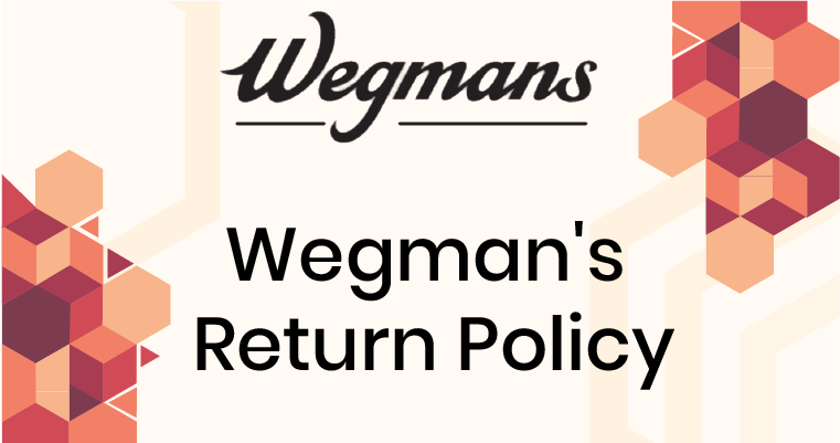 Wegman's Return Policy